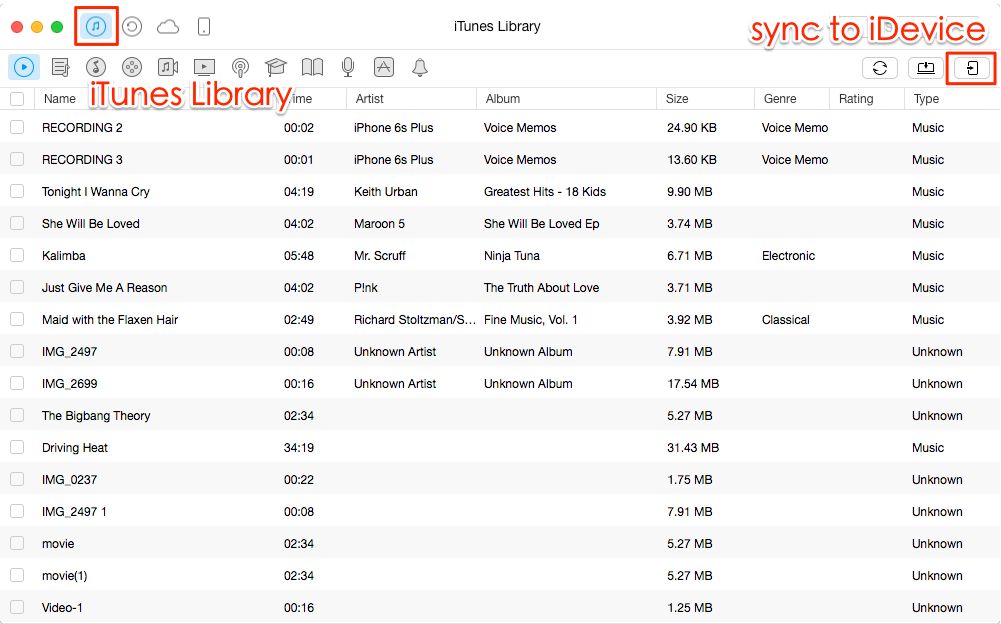 How to Sync iTunes Library to iPod with AnyTrans