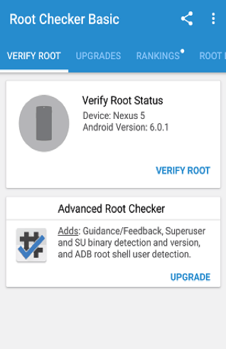 Check Root Access with Root Checker - Step 3
