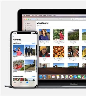 Copy iPhone Photo Album in Your PC