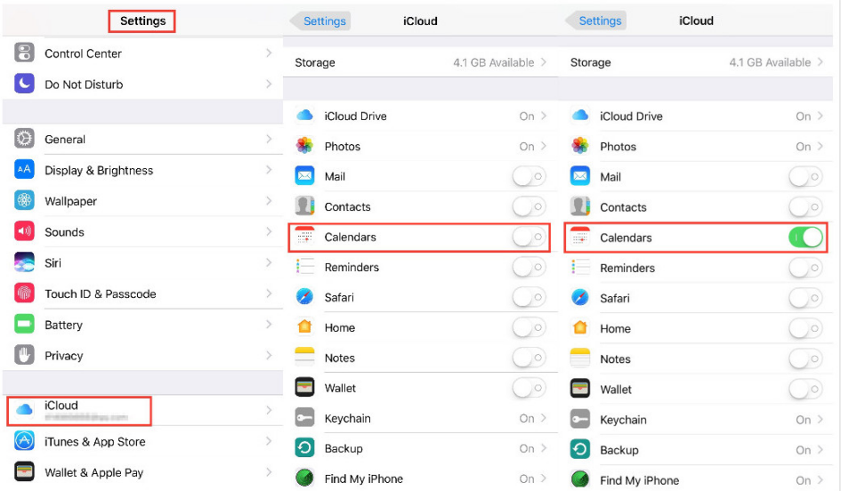 How to Sync Calendars to iCloud Directly
