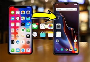 Move Content from iPhone to OnePlus 6T/7 Pro