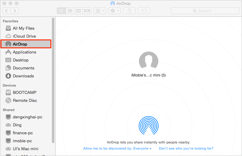 Transfer Files from Mac to Mac with AirDrop