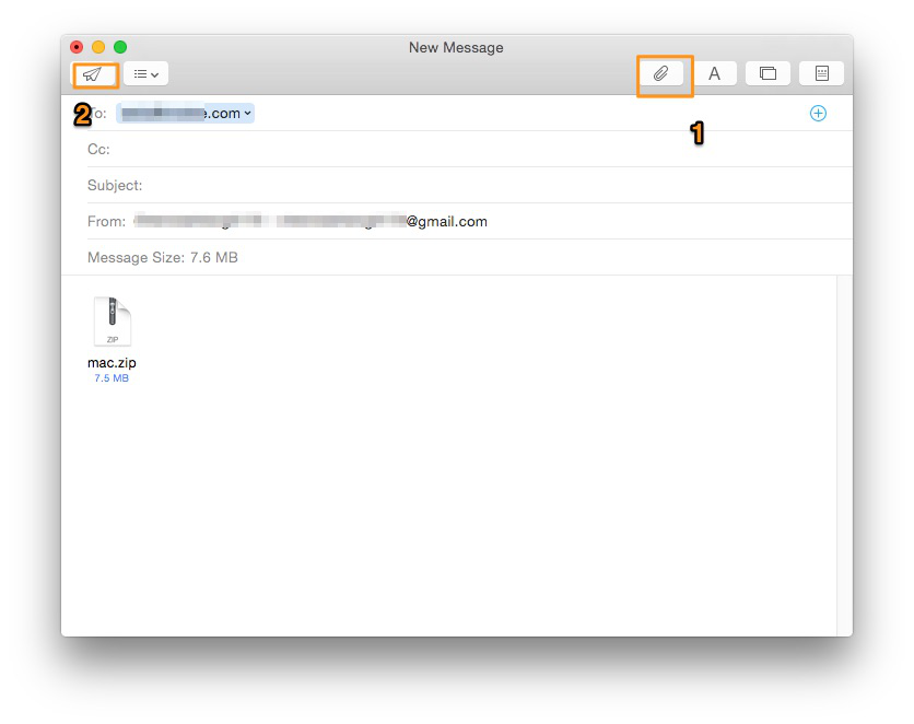 How to Transfer Files from Mac to Mac with E-mails