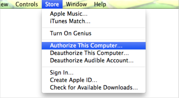 Authorize Computer First Before Transfer Purchased Items to iTunes