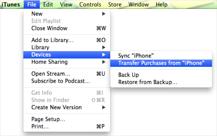 Transferring purchases from iPhone to iTunes - Why is it ...