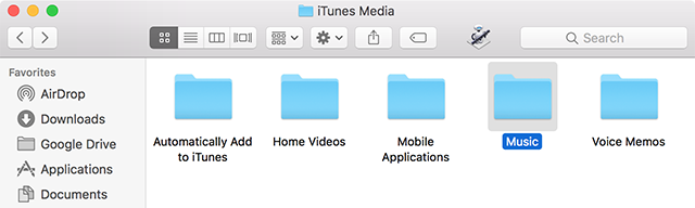 Copy iTunes Library