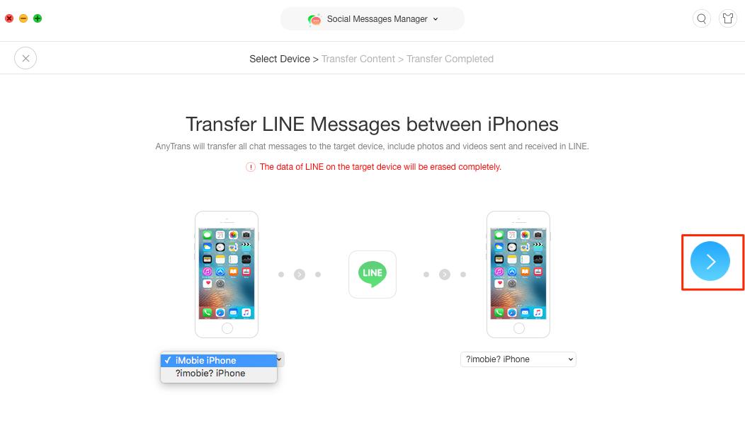 How to Transfer Line to New iPhone - Step 3