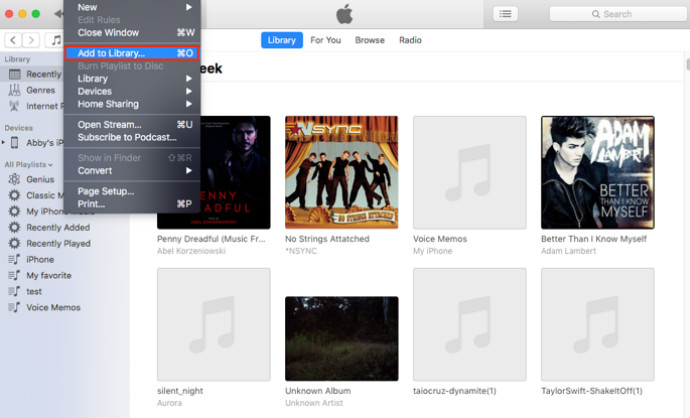 how to put mp3 to iphone