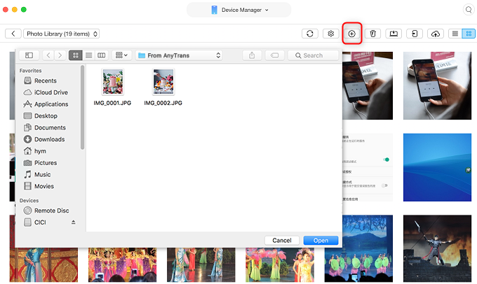 Transfer Photos from Flash Drive to iPhone – Step 3