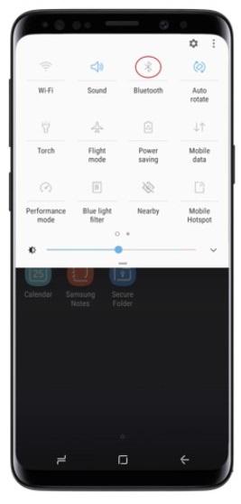 Transfer Photos from Huawei to Mac via Bluetooth - Step 2