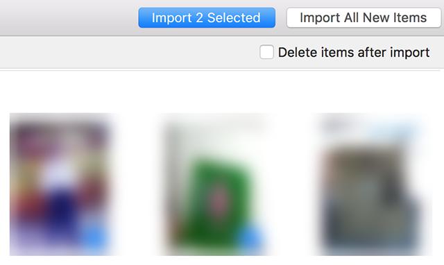 Transfer iPad photos to a Mac