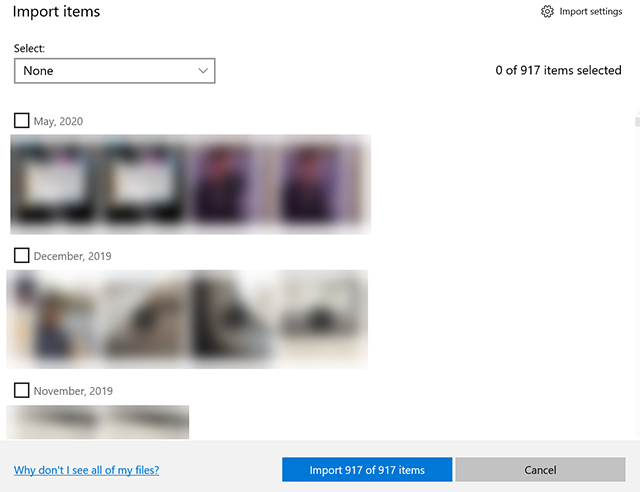 Select and transfer photos from iPad to PC