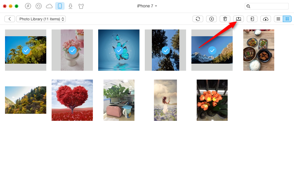 How to Transfer iPhone Photos to Mac with AnyTrans - Step 3