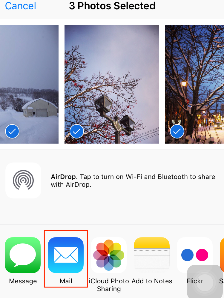 How to Send Photos from iPhone to Mac with Email