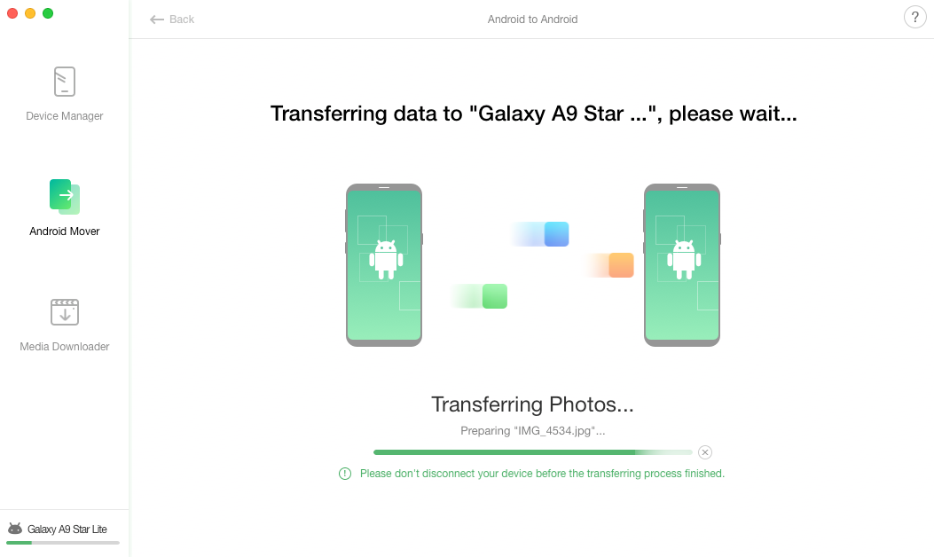 How to Transfer Photos from Samsung to Samsung – Step 3