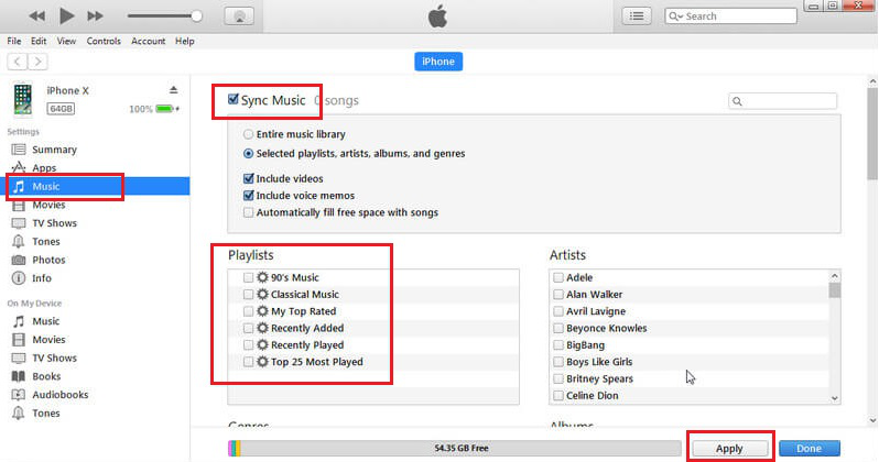 How to Transfer Playlist from iPhone to iPhone via iTunes