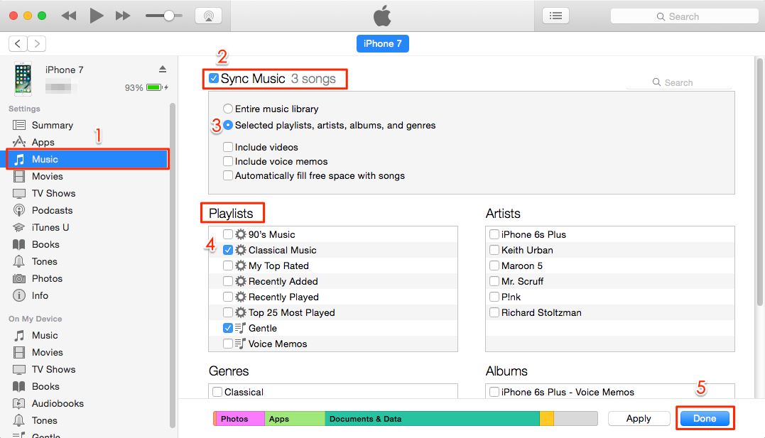How To Transfer To Itunes Library From Iphone