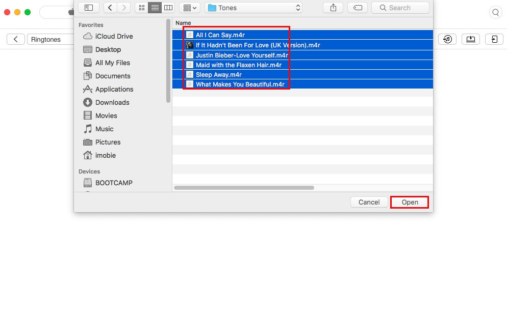 How to Transfer Ringtones from iTunes to iPhone - Step 3