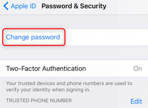 How to Turn on Find My iPhone from Another Device - Change Apple ID Password