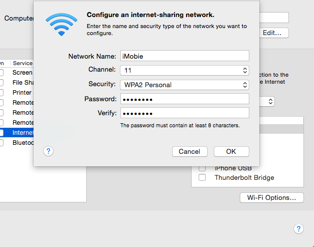how to make your computer a wifi hotspot