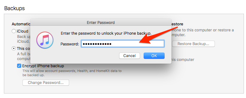 How to unlock iphone with passcode without restore