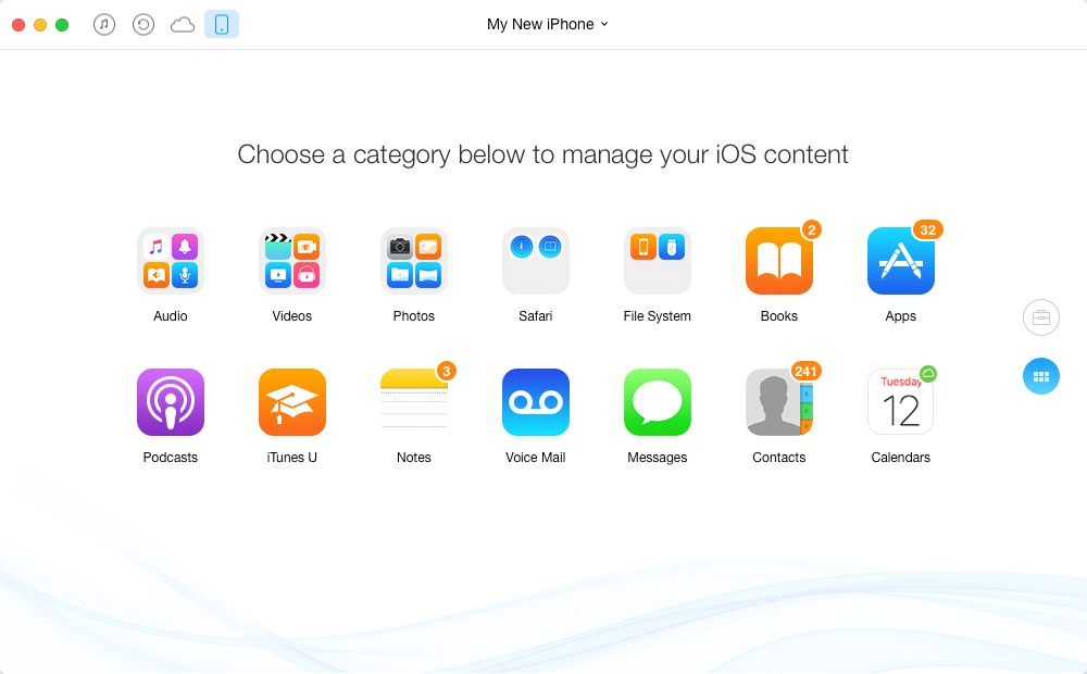 iTunes Alternative Tool to Manage iOS Files on Mac - AnyTrans