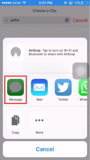 How to Unlock Disabled iPhone/iPad without Computer via Siri – Step 5