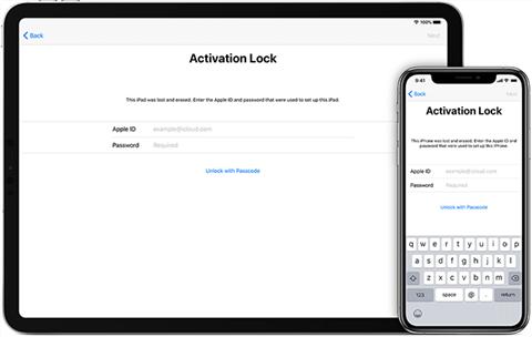 Unlock iCloud locked iPhone