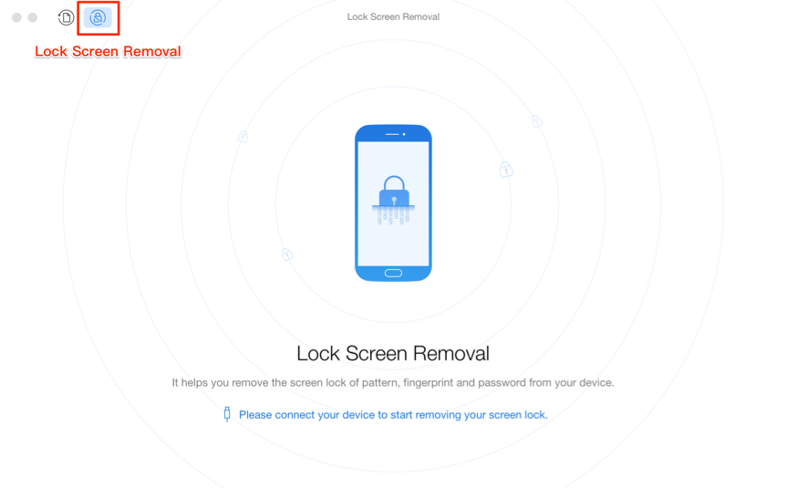 How to Unlock Samsung Phone Forgot Password – Step 2
