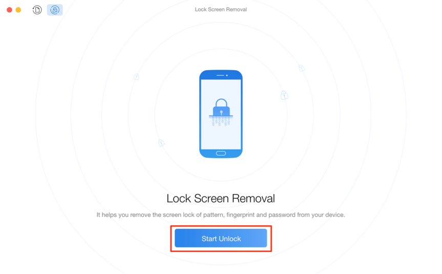 How to Unlock Samsung Phone Forgot Password – Step 3