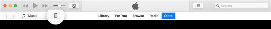 Click the device icon