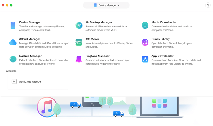 Download iTunes Purchase in AnyTrans for iOS