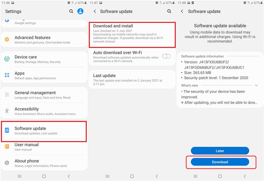 How to Update Samsung Phone to Latest Version