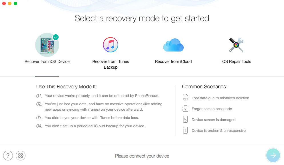 Recover Lost Data after Updating to iOS 11