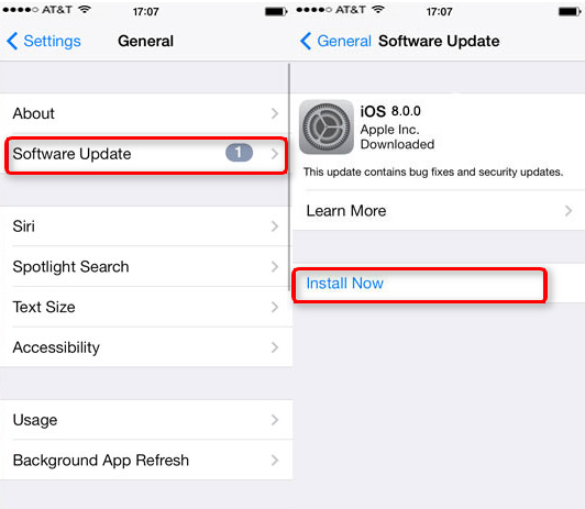 How To Make Iphone  Update To Ios