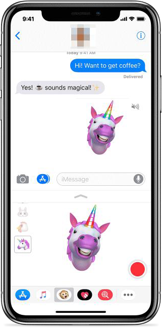 How to Use Animoji on iPhone X in iOS 11