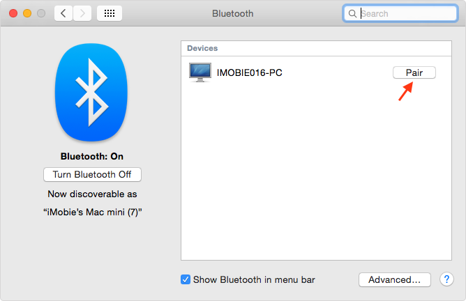 Use Bluetooth on Your Mac