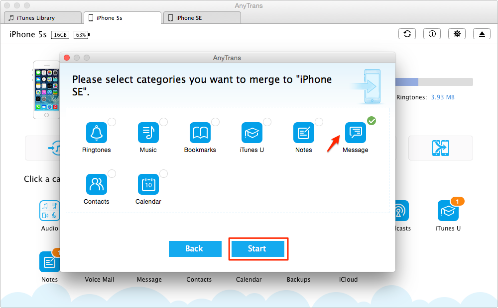 Share Content Between Two iDevices Freely with AnyTrans