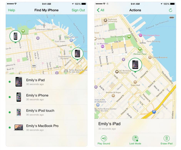 How to Set up and Use Find My iPhone via App- Step 2