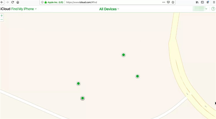 How to Set up and Use Find My iPhone via Web - Step 3