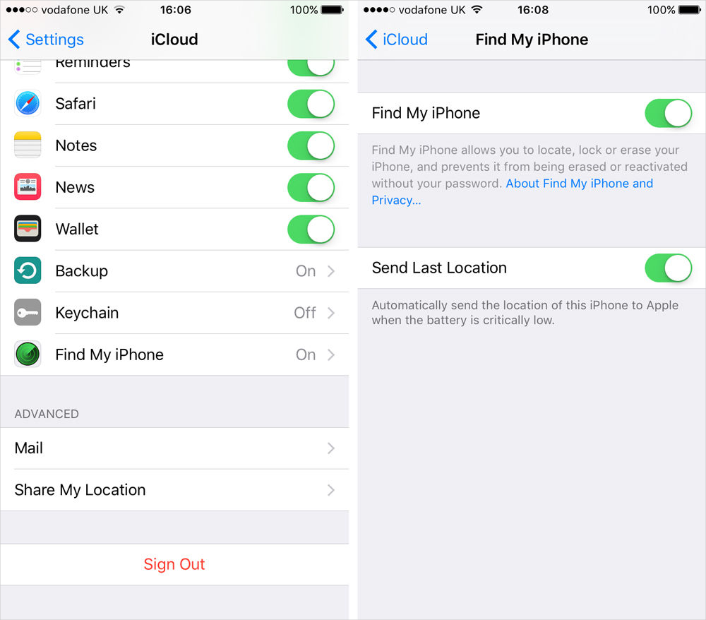 how to enable find my iphone how to use find my iphone on iphone 6s imobie guide 18777