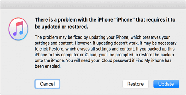 How to Fix iTunes Stuck on Waiting for iPhone Error via Recovery Mode - Step 3