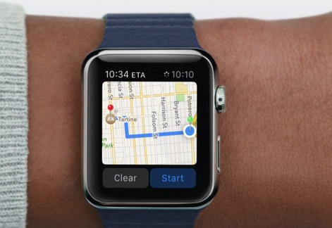 Use Maps on Apple Watch – Step 4