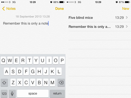 How to Use Notes App on iPhone