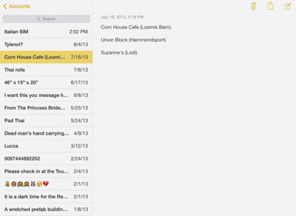 How to Use Notes App on iPad