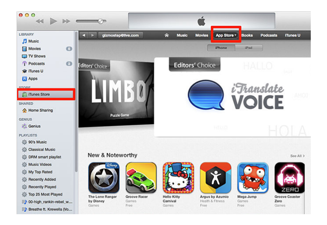How to Download Third-party Apps in the App Store from iTunes