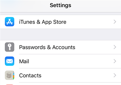 Access Passwords & Accounts on your iPhone