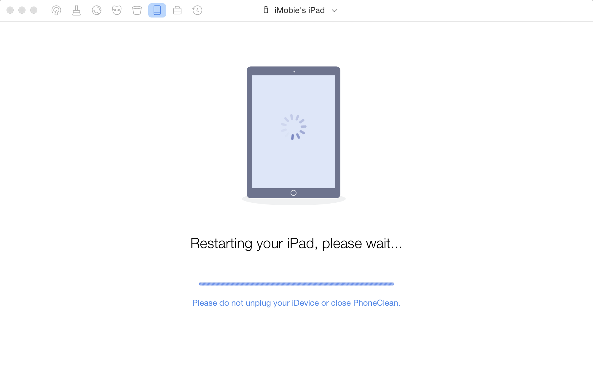 How to Reset iPad without Apple ID – Step 2