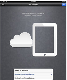 How to Backup with iCloud