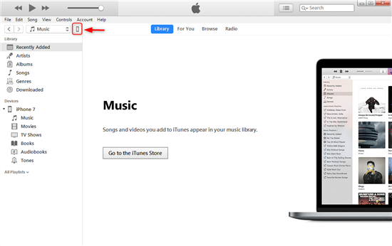 Recover the Missing iBooks from iTunes Backup – Step 1